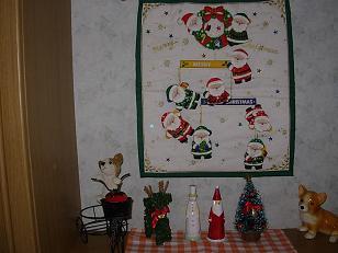 クリスマス飾り 玄関