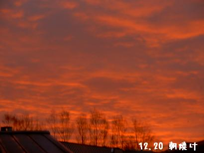 12.20朝の風景