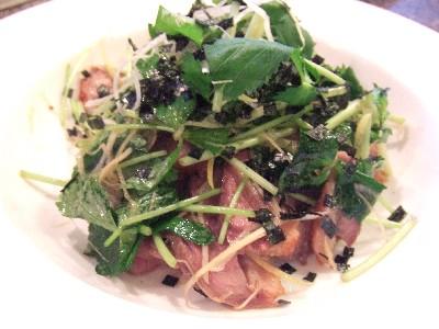 台湾産鴨胸肉のオーブン焼き(バラの香りをまとわせて)