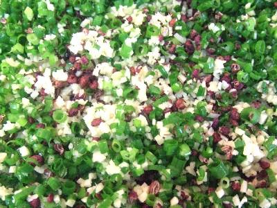 青葱、生姜」、山椒