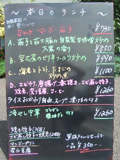 2009_0807本日のランチ