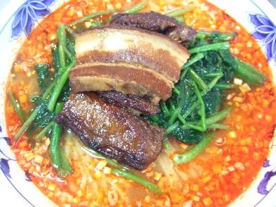 扣肉酸辣麺(コーロウスワンラーメン)