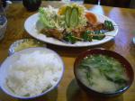 串焼き定食