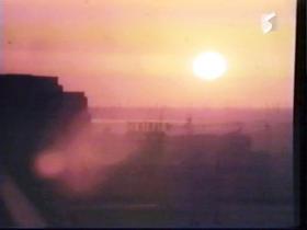 陽が沈み、