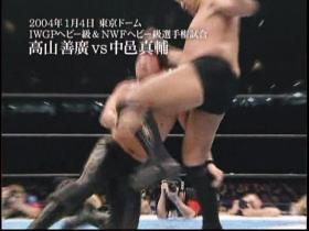 中邑vs高山煽りV18