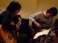 ギター受講者同士のセッション