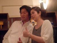 vo田中ゆうこさんとg村山義光氏の懐かしい同級生のご友人(元バンド仲間)