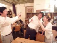 vo田中ゆうこさんとg村山義光氏の懐かしい同級生のご友人(元バンド仲間)とお友達