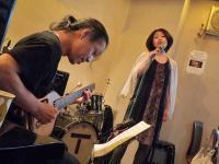 ボーカル受講者と村山講師