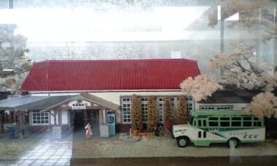 100323東飯能駅模型