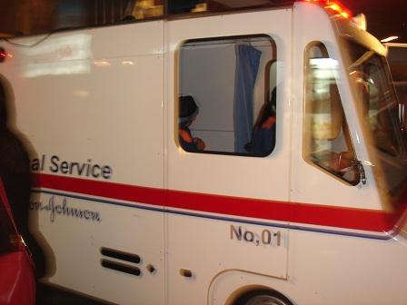 DSC02372キッザニア救急車