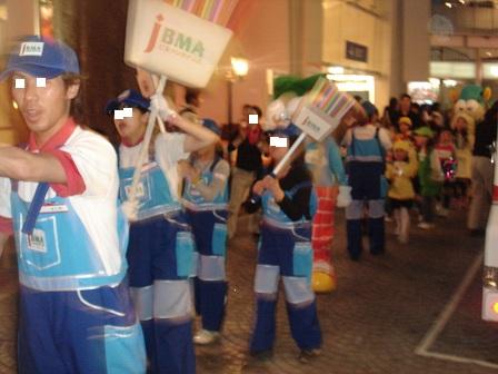 DSC02452キッザニアパレードみんなで歩く実織