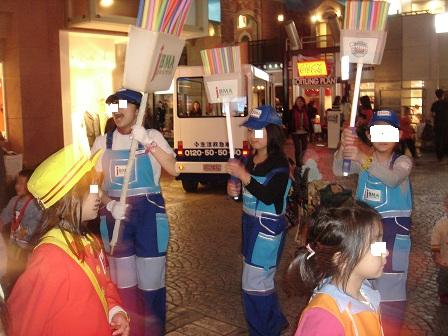 DSC02469キッザニアパレード残って行進の実織