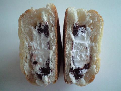 パイ風つぶあん&ホイップパン