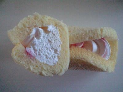 たっぷりクリームオムレット(ホイップ&イチゴ)