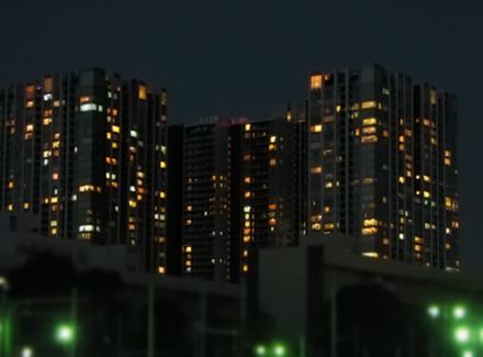 天王洲アイルの夜景