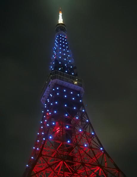 東京タワー レインボーカラー