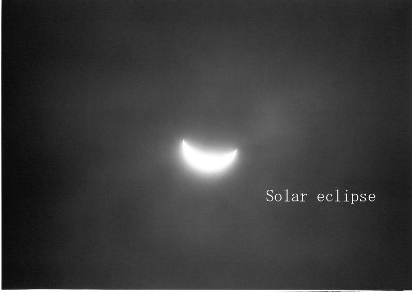 ブログ日食
