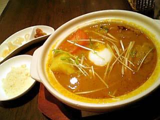 中村屋 土鍋スープカリー