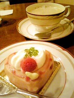 タンプルタン ケーキ+カフェオレ