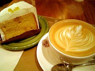 ZOKA COFFEE カフェラテ+ハニージンジャーシフォン