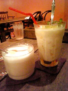Cafe Amer ハニーレモンジンジャーラッシー+たんぽぽコーヒー