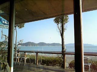 PARADISE CAFE NALU 景色