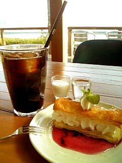 PARADISE CAFE NALU ランチデザート