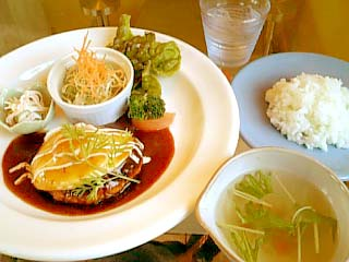 GO BLITHELY 豆腐ハンバーグランチ