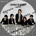 KAT-TUN CHANGE UR WORLD初回①サンプル