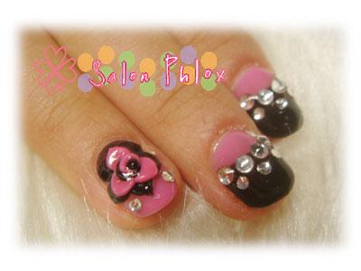 ピンク&ブラック
