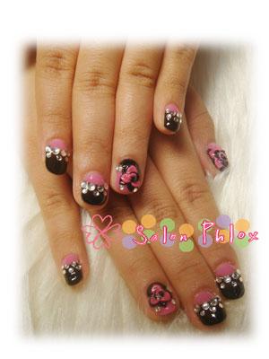 ピンク&ブラック大