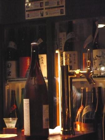 1お酒とビールサーバー