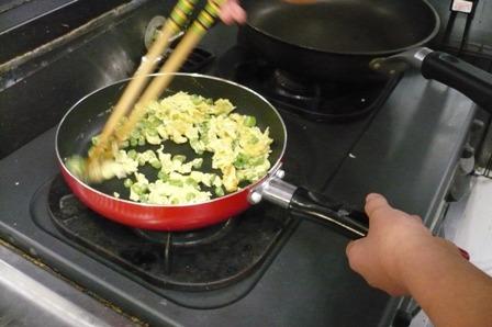 こごまの弁当作り3