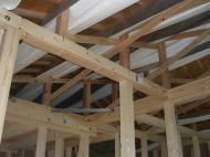 天井のタイベックシルバー