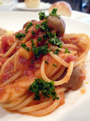 新町のフレンチ・イタリア料理 たかはしでパスタランチ。