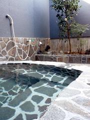 泗水温泉の家族湯・野の湯で初風呂☆