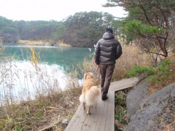 お散歩です