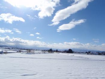 雪原だぁ!!!