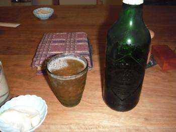 オシャレな瓶ビール