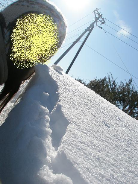 大雪の回廊