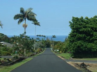 Hilo on a hot sunny day