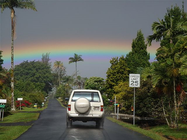 Morning Rainbow in Hilo