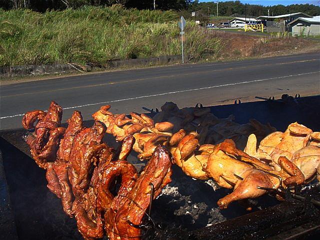 Hulihuli Chicken and Pork