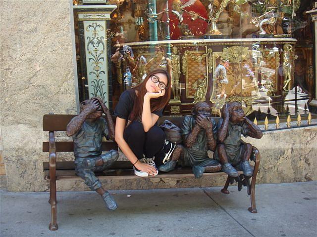 Four Wise Monkeys 1