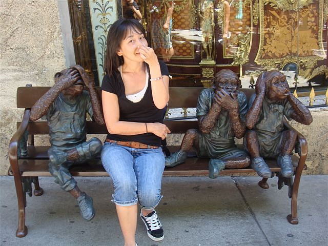 Four Wise Monkeys 2