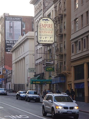Massage in San Francisco