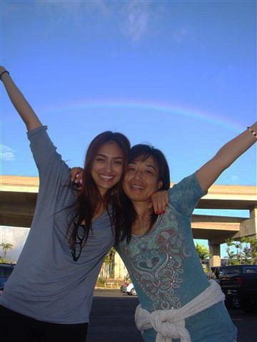Rainbow in Honolulu