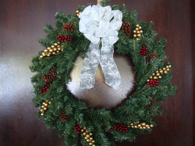 Christmas Wreath 2008