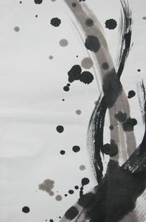 墨アート8